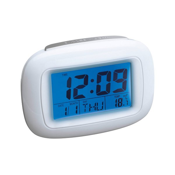 Alarmuhr mit Thermometer REEVES-DILI white