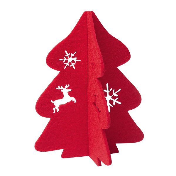 Weihnachtsdekoration REFLECTS-JINAN red