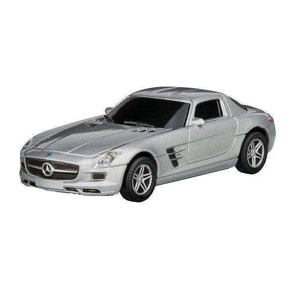 USB-Speicherstick Mercedes Benz SLS 1:72 silver 16GB