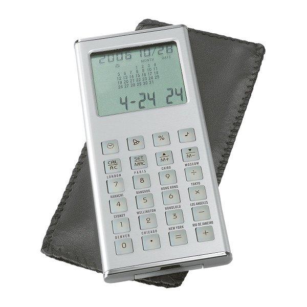 Taschenrechner mit Weltzeituhr REFLECTS-OVIEDO