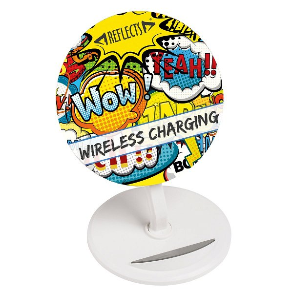 Wireless charging stand Wireless charging stand incl. all over print