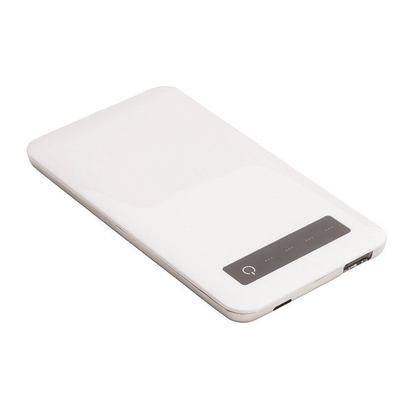 Powerbank REFLECTS-MARSEILLE white 4000 mAh