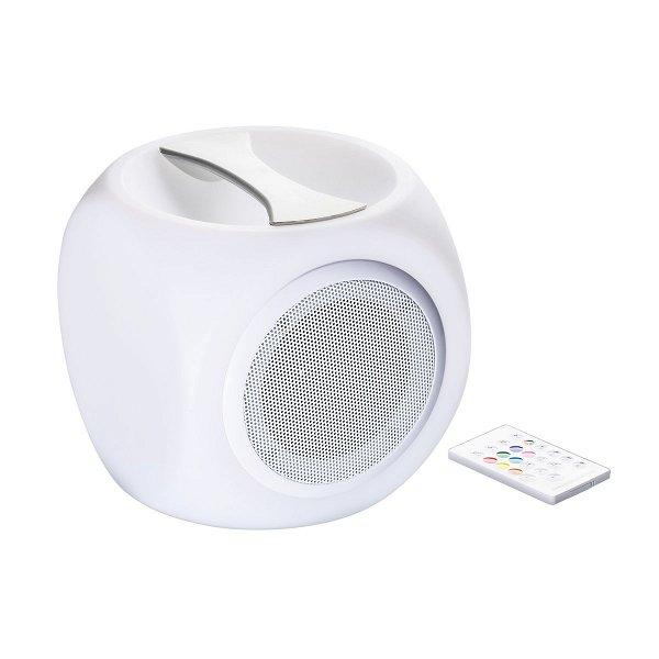Bluetooth®-Lautsprecher mit Licht REEVES-MALBORK white