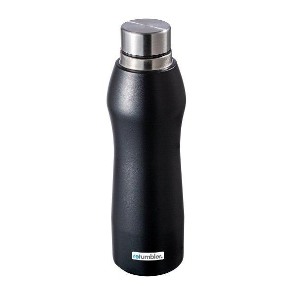 Trinkflasche RETUMBLER-GIBRALTAR black veredeltes Muster