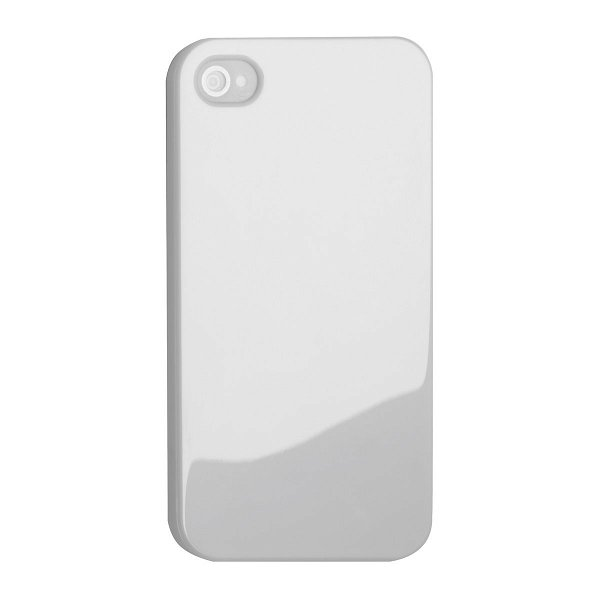 Smartphonecover REFLECTS-COVER IV für iPhone 4/4S white