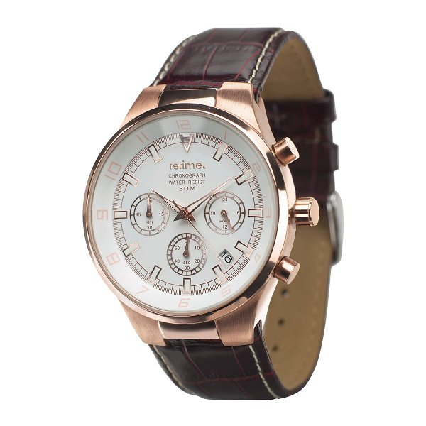 Armbanduhr REFLECTS-CHRONO rose gold
