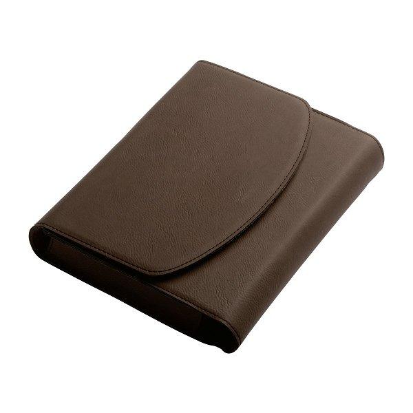 Bordbuchtasche REFLECTS-RHODES brown