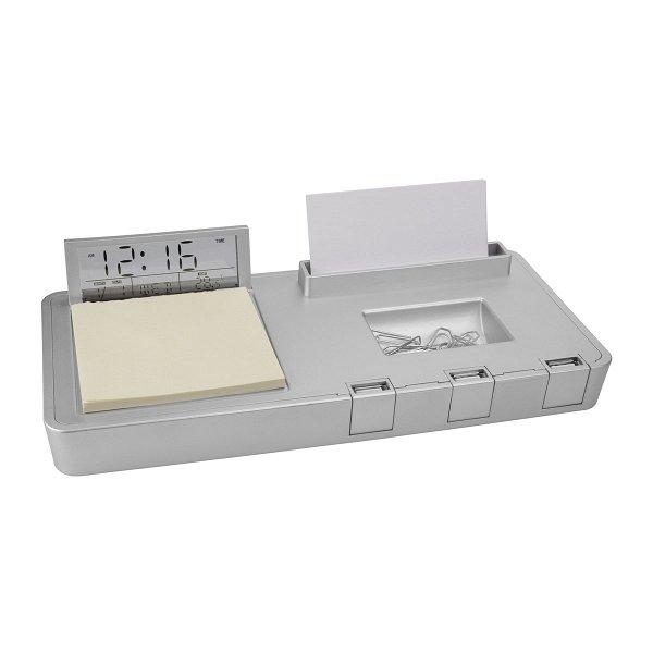 USB-Hub mit 3 Anschlüssen und Schreibtischset REFLECTS-RUMIA