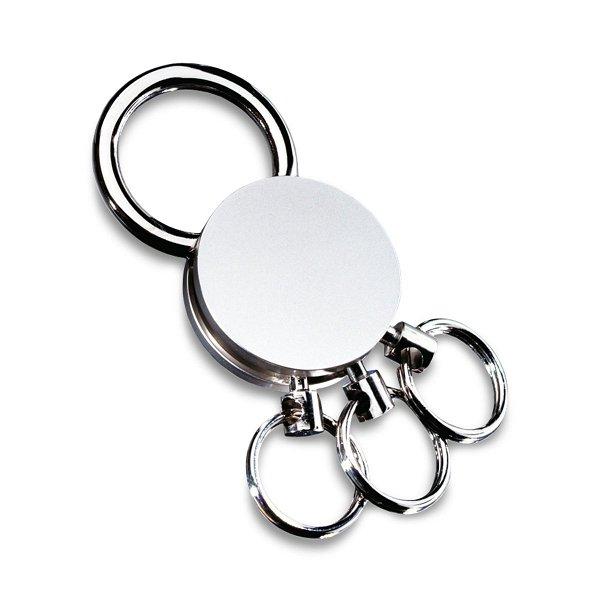 Schlüsselanhänger mit abnehmbaren Ringen REFLECTS-MULTI