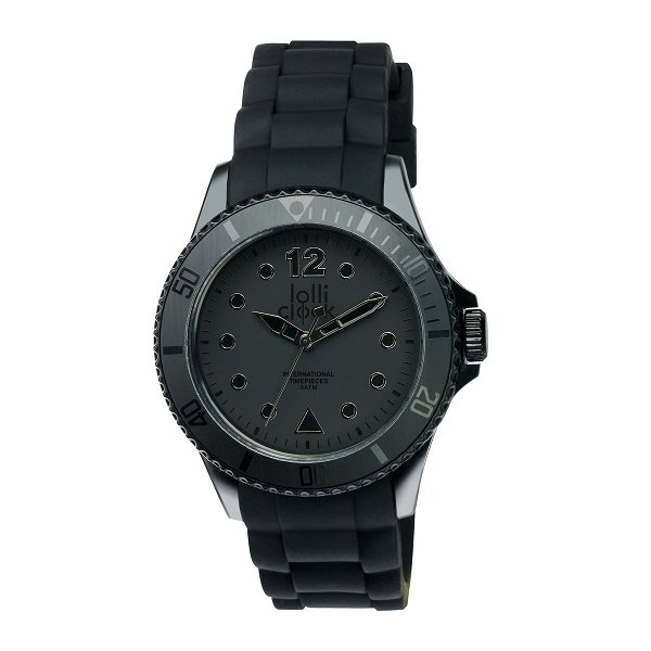 Armbanduhr LOLLICLOCK black