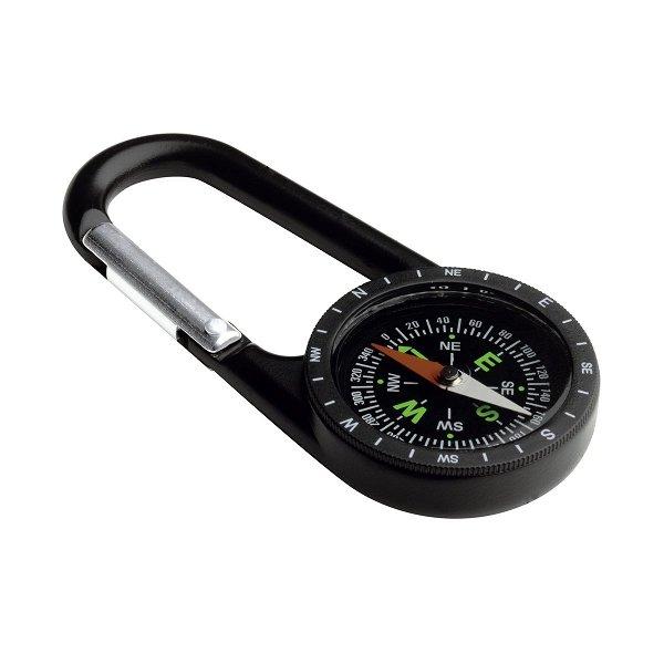 Kompass mit Karabiner REFLECTS-TRACTOR XL