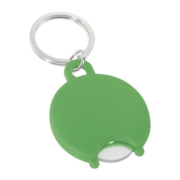 Einkaufswagenchiphalter REFLECTS-SOLID green