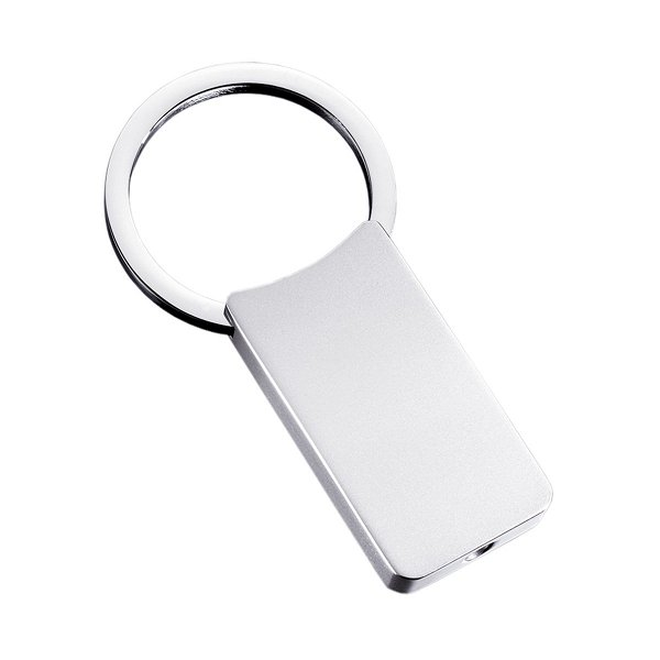 Schlüsselanhänger in silber REFLECTS-CLASSIC LARGE