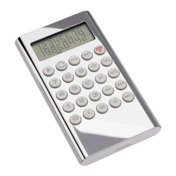 Taschenrechner REFLECTS-MANDAN silverpolished finish