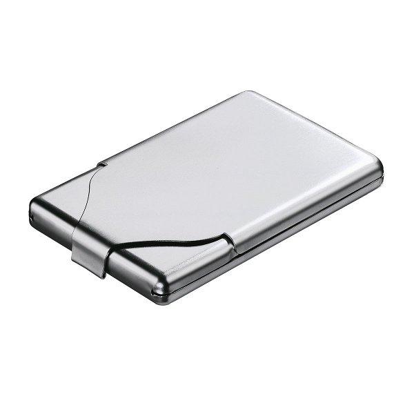 Zigaretten-/ Visitenkartenbox REFLECTS-TOUGH matt-silver finish