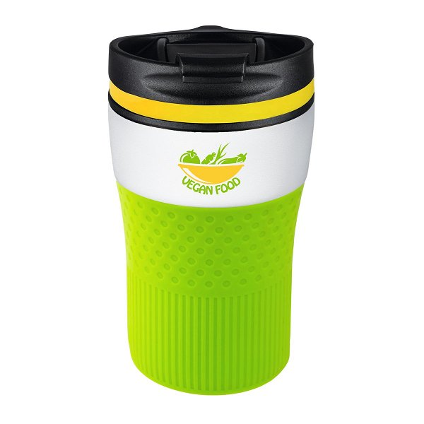 Thermobecher RETUMBLER-BAYAMO CORPORATE white veredeltes Muster