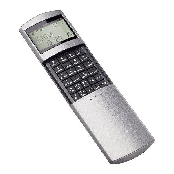 Taschenrechner mit Weltzeituhr REFLECTS-ODENSE