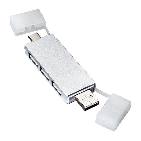 USB Hub REEVES-SABADELL silver