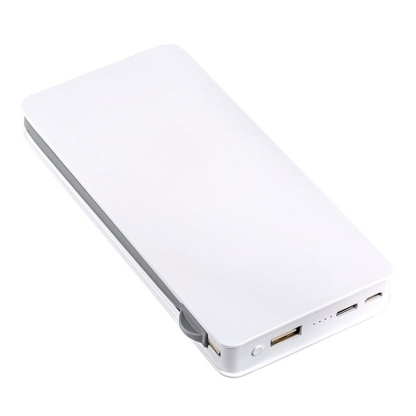 Wireless charging powerbank REEVES-LEICESTER white 10000 mAh