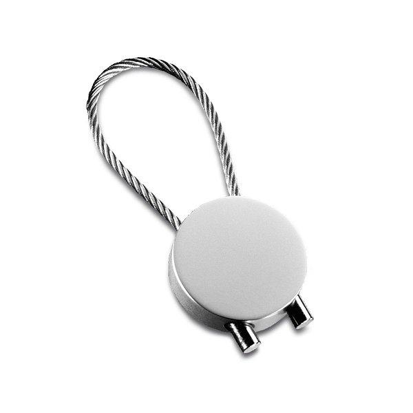 Drahtseil Schlüsselanhänger rund REFLECTS-CABLE