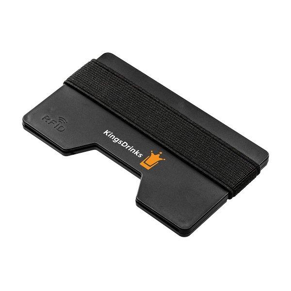 Kartenetui mit RFID Ausleseschutz REFLECTS-LOMITA black