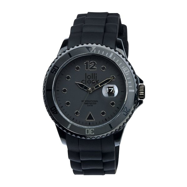 Armbanduhr LOLLICLOCK-DATE black