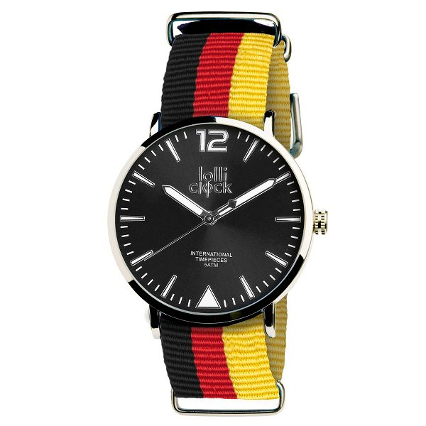 Armbanduhr LOLLICLOCK-FASHION DEUTSCHLAND black/red/yellow