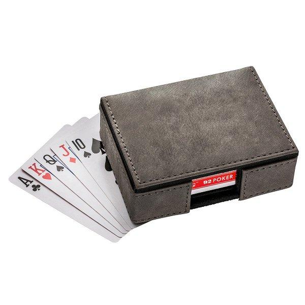 Spielkarten Set mit Box REFLECTS-CALABASAS black