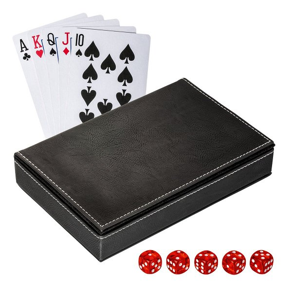Spielkarten Set mit Box REFLECTS-SALAMINA black