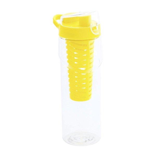 Trinkflasche mit Aromaeinsatz & Saftpresse REFLECTS-TAUNTON yellow
